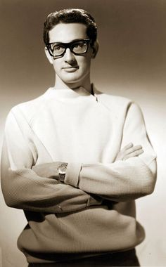 Buddy Holly 1936-1959. Died in a plane crash at the age of 22.
