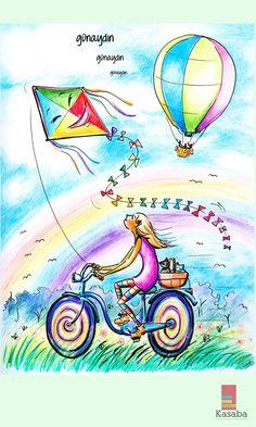 Hayallerini renklendirmek senin elinde!..   #günaydın #morning #sabah