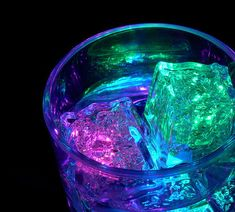 "Use ""light"" ice with your party drinks #lightingjokes"
