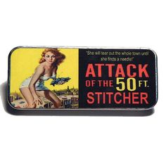 Magnetic Needle Case Needle Slider Case Attack of by PinoyStitch