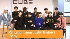 Pentagon sings Justin Bieber's 'Baby'