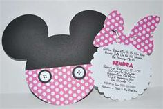 Minnie Mouse Baby Shower Invitation (Inspired) 2
