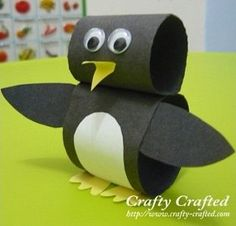 P is for penguin.  Penguin crafts.