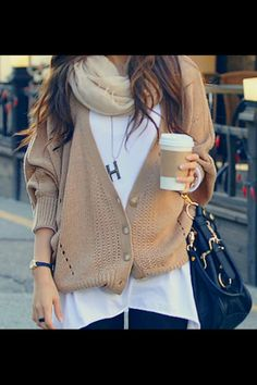 Sweaters...MUST! Even in S Fla- I pretend ! Bc I MISS being able to wear cute fall clothes!!! Oh MAH gawd for real though!