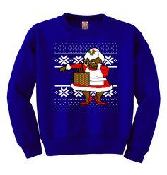 Dabbing OG Mrs. Claus Ugly Christmas Sweater   Unisex Adult Crewneck Sweatshirt