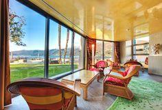Interior is designed by Carlo Rampazzi