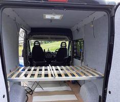 IKEA adjustable skorva beams Campervan Bed, Campervan Ideas, Camper Van, Beams, Gym Equipment, Ikea, Recreational Vehicles, Ikea Co, Travel Trailers