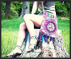 hand stitched fabric handmade tote bag bohemian by ColorsOfEtnika, $59.95