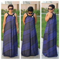 Most Comfortable DIY Maxi Dress - Pattern Description: New Look 6207 African Fashion Dresses, African Dress, Diy Clothing, Sewing Clothes, Nice Clothes, Fashion Sewing, Diy Fashion, Fashion Ideas, Diy Dress