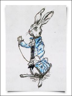Alice in Wonderland - Fox From Mars