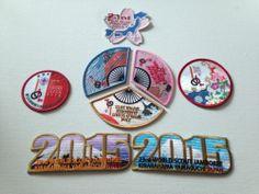 2015 23rd Japan World Scout Jamboree Set fun badges    eBay