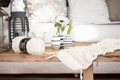 Amalie loves Denmark: Ein neues Strickprojekt am Start - wieder eine (Sommer-)Wolldecke #knitting #living_room #broste_copenhagen #snowdropsby