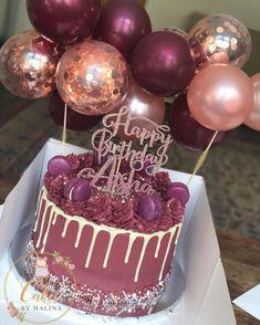 simple first birthday Birthday Cake Roses, 15th Birthday Cakes, Beautiful Birthday Cakes, Beautiful Cakes, Amazing Cakes, 21st Birthday, 30th Birthday Ideas For Women, Birthday Cakes For Women, Simple First Birthday
