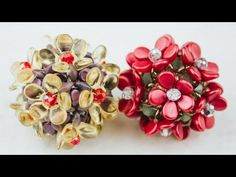 Фуллерен с цветочками(Часть 1/2) - YouTube