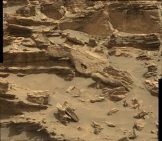 Nice big hole in this rock on one of the buttes. Dwarf Planet, Red Planet, Mars Science Laboratory, Space Probe, One Step Beyond, Curiosity Rover, Mission To Mars, Fantastic Show, Life On Mars