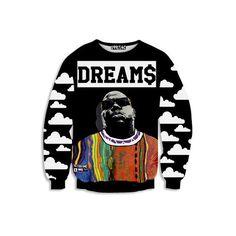 Notorious BIG 'DREAM$' Sweatshirt