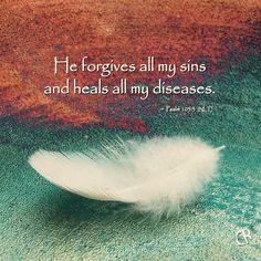 Healing Bible Verses, Prayers For Healing, Prayer Scriptures, Faith Prayer, Biblical Quotes, Bible Verses Quotes, Faith In God, Spiritual Quotes, Psalms Verses