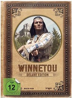 """Winnetou Box Deluxe Edition [10 DVDs] *13 Stunden und 56 Minuten* Die """"Winnetou – Deluxe Edition"""" vereint erstmals die neun spannendsten Abenteuer des legendären Apachen und seines Blutsbruders Old Shatterhand. Die Box enthält """"Der Schatz im Silbersee"""", """"Der Ölprinz"""", """"Unter Geiern"""", """"Old Surehand"""", """"Winnetou und das Halbblut Apanatschi"""", """"Winnetou und sein Freund Old Firehand"""" sowie die berühmte """"Winnetou""""-Reihe (Teil I–III).  Dieser Artikel erscheint am 9. Dezember 2016"""