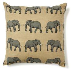 Elefant Kuddfodral 50x50 cm   Mio