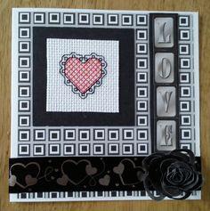 #Cross Stitch #Love #Heart