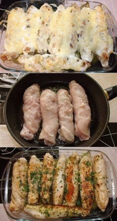 Chicken rolls at home!- Chicken rolls at home!- Chicken rolls at home! It is always so appetizing! Healthy Eating Tips, Healthy Recipes, Healthy Nutrition, Italian Chicken Dishes, Chicken Snacks, Meat Rolls, Turkey Dishes, Albondigas, Food Photo