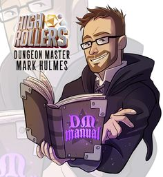 ninaserena:  Dungeon Master Mark Hulmes!——–Highrollers D&D every Sunday 5pm GMT live on:http://twitch.tv/yogscast#HighRollers