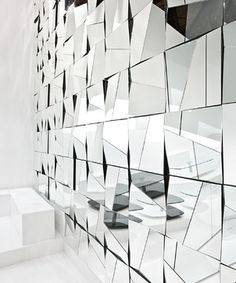 Stati d Animo Wall Mirror by Tonelli Design - modern - Entry - Philadelphia - RoomService 360