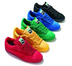 Addicted to all these Puma Suede Eco-Tonal Pack I want the blue soooo bad! Puma Sneakers, Shoes Sneakers, Pumas Shoes, Men's Shoes, Mode Cool, Baskets, Sneaker Games, Puma Suede, Sneaker Boots