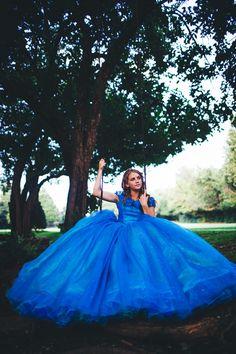 Cinderella Disney Dress Costume / Cosplay door bellamaesdesigns