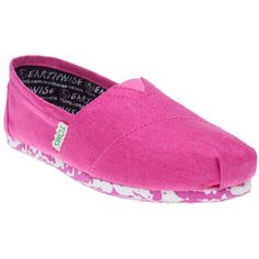 6f3d7701f475 Womens Pink Toms Earthwise Classic Shoes at Soletrader