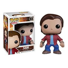 """Sam Winchester (actor Jared Padalecki) is now stylized as a 3 3/4 inch Funko Pop! Vinyl figure. """"We're doing an article on local hauntings, and rumor has it you might know about one."""" --Sam Winchester, Supernatural #nesteduniverse"""