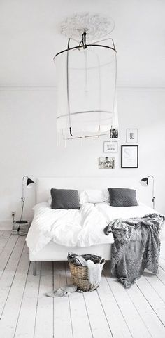 = cotton lamp, ceiling rose and light boards | = SOFT GREY  | Bedrooms, Grey and Grey Bedroom Decor