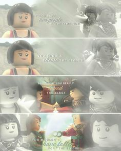 """#Ninjago: Nya and Jay, Cole """"If you love two people in the same time, you should choose the second.."""" My edit. Hope you'll like it. :-) Give me credit, if you repost! ( @smaragdamalia // instagram, tumblr, twitter )"""
