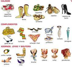 Aprender español es facil!!!: La ropa -τα ρούχα
