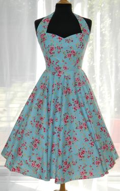 Vintage/50s/Rockabilly Style Dress by BadlyBahavedBetty on Etsy, £80.00