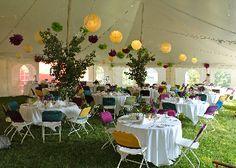 Wedding tent.....lovely