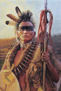 Pawnee Warrior | by David Yorke's art