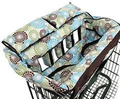 Shopping cart/trolley cover for twins!
