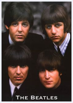 A great Beatles poster of the four Mop Top-ped lads from Liverpool - John Lennon, Paul McCartney, George Harrison, and Ringo Starr! Ships fast. 24x33 inches. Check out the rest of our selection of Bea
