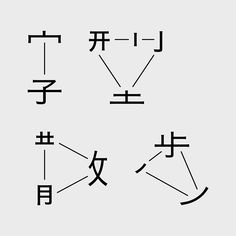 A Chinese Font Walk on Behance WANGZHIHONG .COM