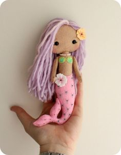 mermaid doll pattern pic - Google Search