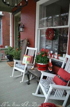 Lovely X-mas porch_Love for all seasons