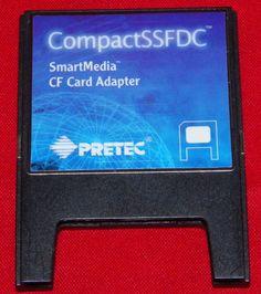 Pretec CompactSSFDC SmartMedia CF Card Adapter #pretec