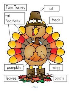 Thanksgiving Turkey Labels FREE