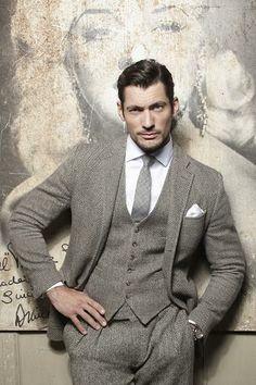 8ccdc4d23a David Gandy and the gray suit. Marisa Gardner · Gentlemen   Scoundrels