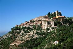 Eze, France. I really want to live on a mountian in France, this will do.