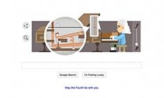LOVE THE PIANO & HARPSICHORD! Google's latest doodle celebrates the 360th birthday of Bartolomeo Cristofori, the man widely credited with inventing the piano.
