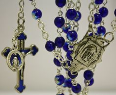 Rosary made by Amy Hoffman of Yellowknife, NT. $45.50