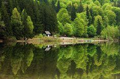 Lake Sfânta Ana, Harghita County, Romania