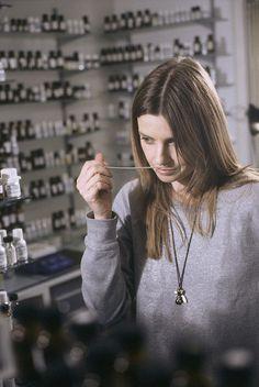 Lyn Harris of Miller Harris In Lab